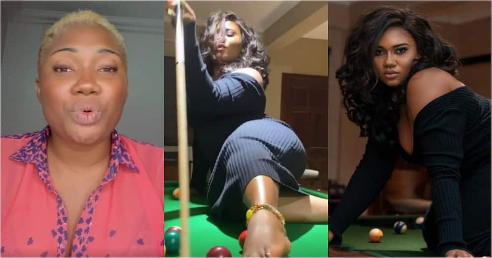 I am a ticking time bomb, deal with me at your own risk - Abena Korkor boldly warns Kojo Yankson, KOD, others