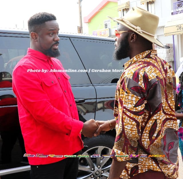 Sarkodie and M.anifest meet face-to-face (Photos)