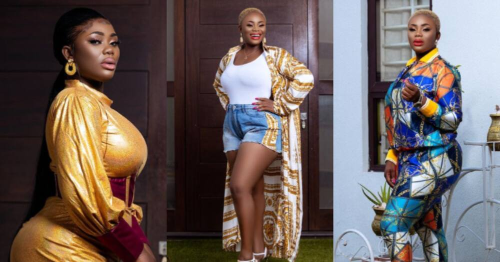 Akua GMB: Former beauty queen lights up social media in stunning outfit, many react