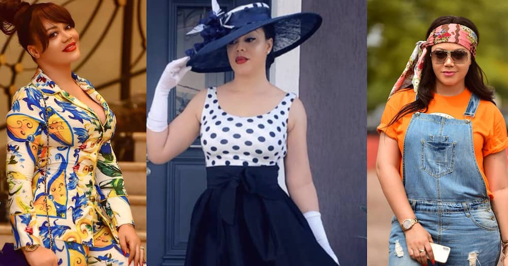 Nadia Buari's mum drops throwback photo with daughter; shows off tattoo