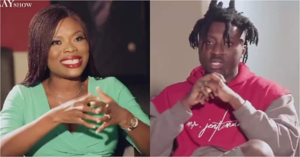 I will call you sweetheart and hold you - Rapper Amerado flirts with Delay as he shows interest in her