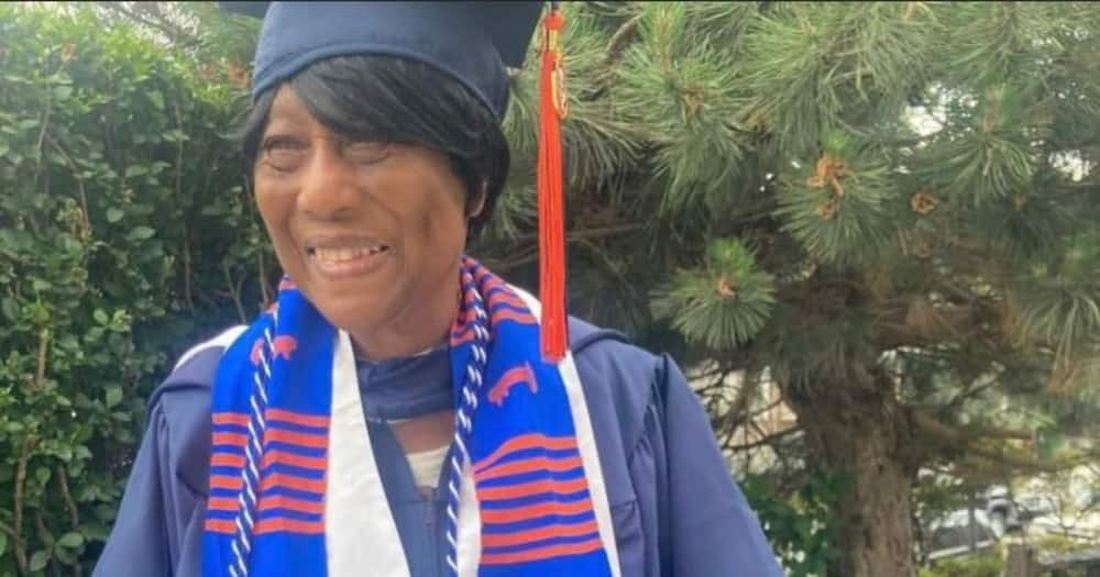 """Young Man Celebrates 86-Year-Old Grandmother after She Attained Master's Degree: """"Put Some Respect"""""""