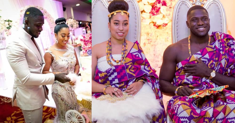 Pastor Chris' Daughter Sharon and Ghanaian Husband Philip Frimpong Welcome Their 1st Child (Photos)