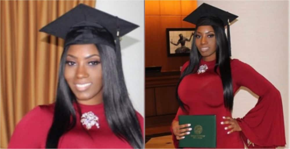 PHOTOS: Pretty lady drops beautiful photos to celebrate obtaining master's degree from top university