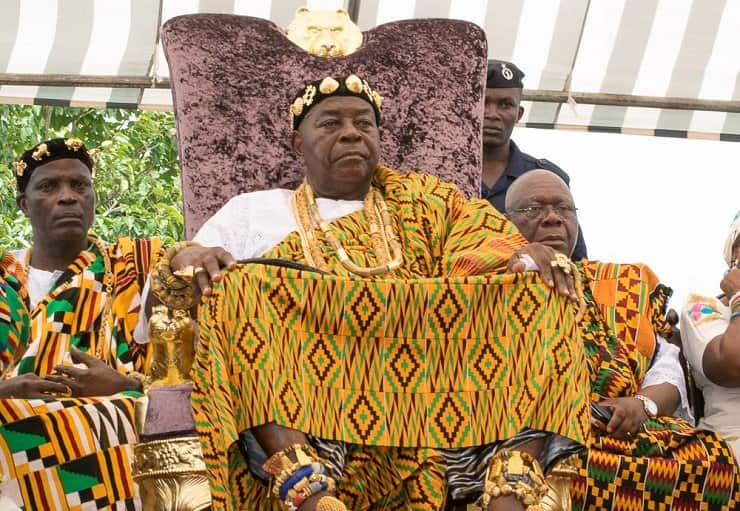 Anlo chief appeals to Akufo-Addo to build a harbour in the area before he dies