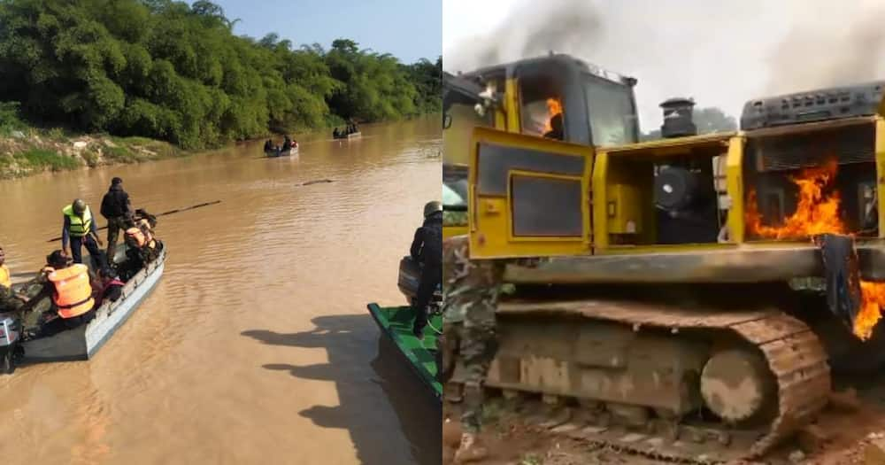 Stop burning our excavators; use them to fix bad roads – Angry Chiefs tell gov't