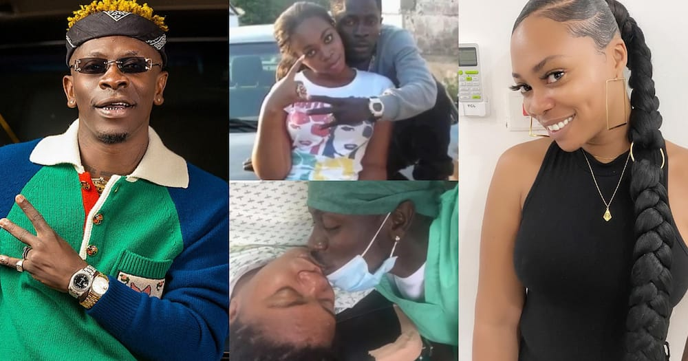Magluv: Lady accused of causing Shatta Wale and Michy speaks