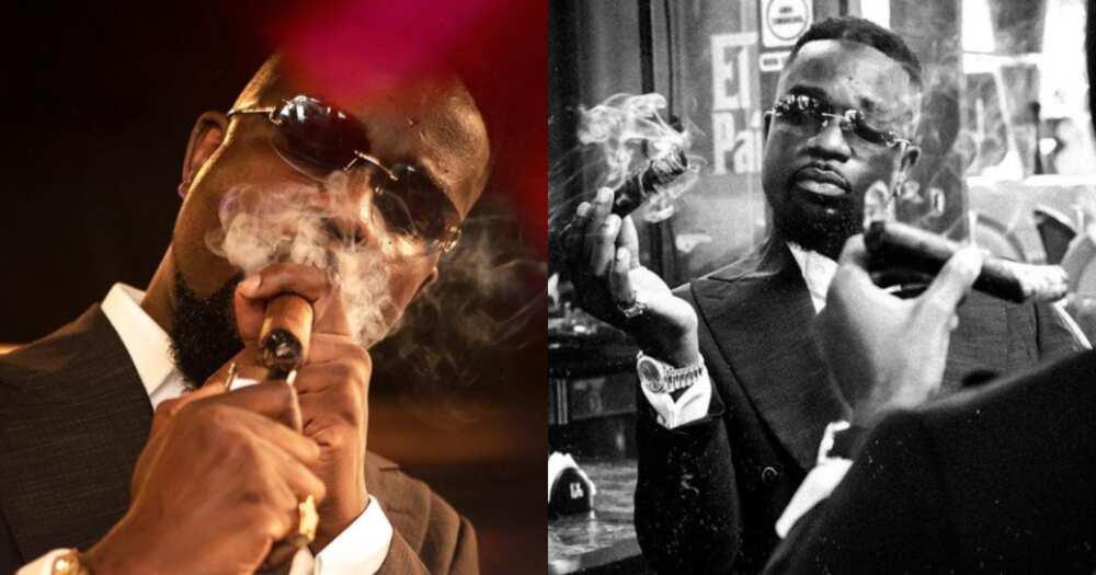 Apologise for publicising distasteful cigar-smoking photos on social media - CSOs to rapper Sarkodie