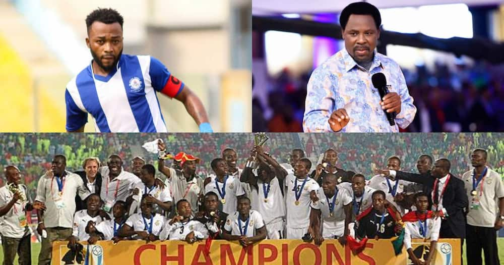 Gladson Awako opens up on role late T.B Joshua played in famous 2009 World Cup win