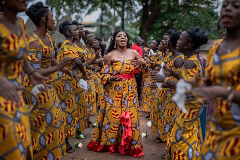 Ghanaian engagement list