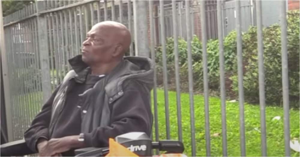 80-year-old Ghanaian man living in the UK