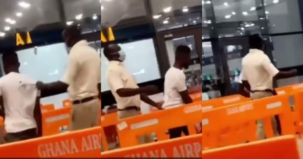 Ghana ay3 shi: Ghanaian caught at airport trying to leave the country without a passport