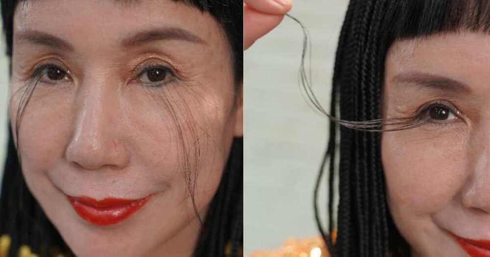 China's You Jianxia has the world's longest eyelashes