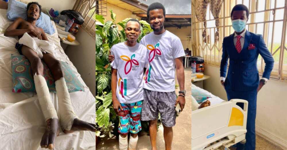 BigGodwin Martey: Ghanaian CEO pays hospital bills for orphan abandoned at Korle-Bu