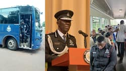 No more trotro for police as IGP introduces shuttle services to transport officers from home to work