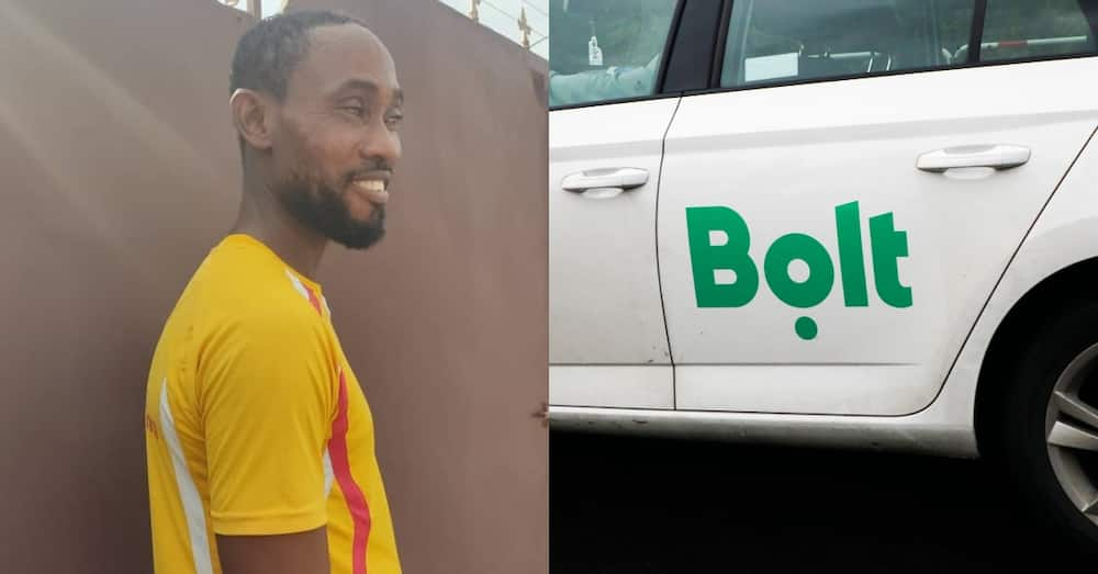 Isaac Donkor: Honest Ghanaian Bolt driver returns iPhone 11 Pro Max left in his car
