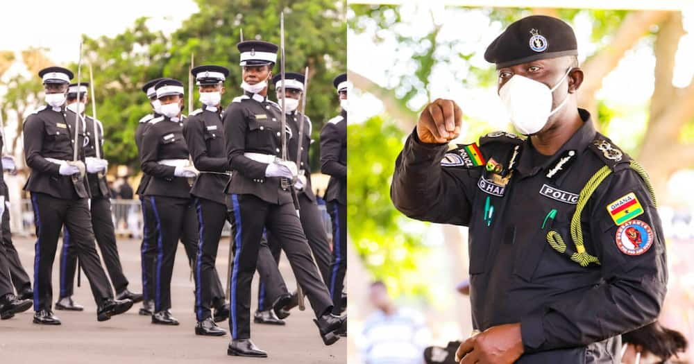 IGP advises police officers to avoid disgraceful acts