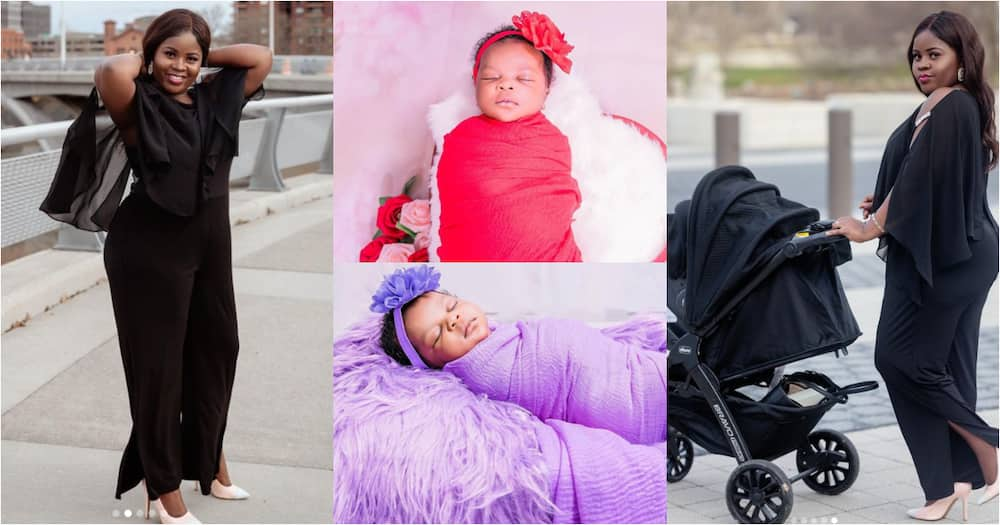Kaakie reveals real name and cute face of her 1st daughter; drops stunning photos
