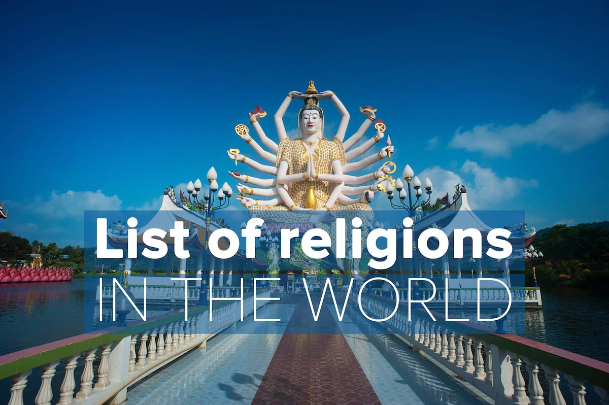 religions in the world, number of religions in the world, nicest religions in the worl