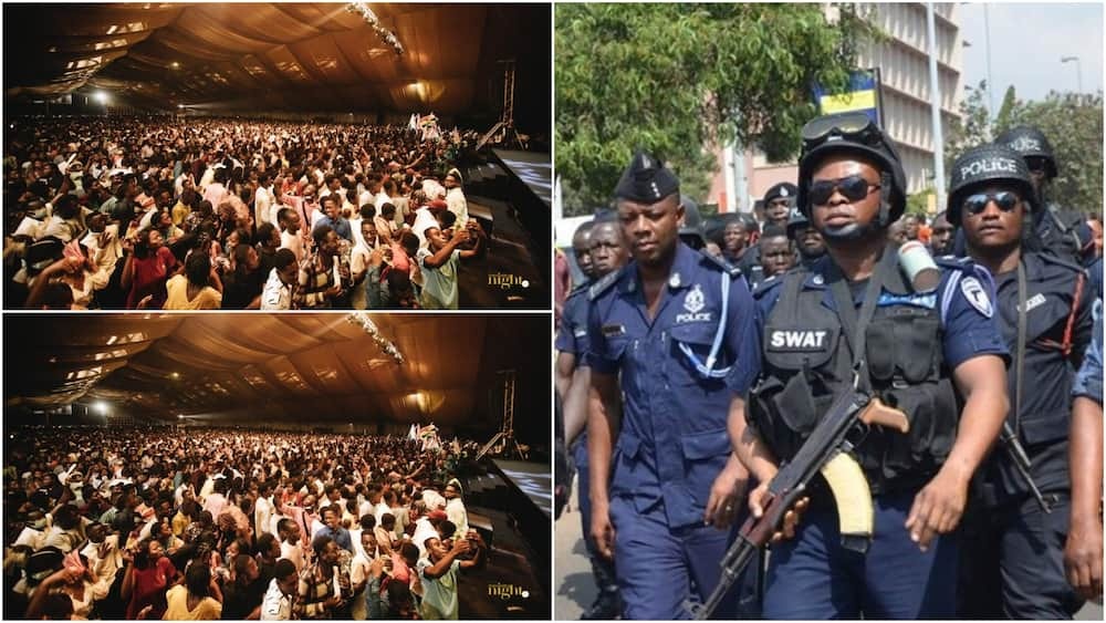 """Christ Embassy """"Pneumatica Night""""; Police locks Fantasy Dome, chase after organisers"""
