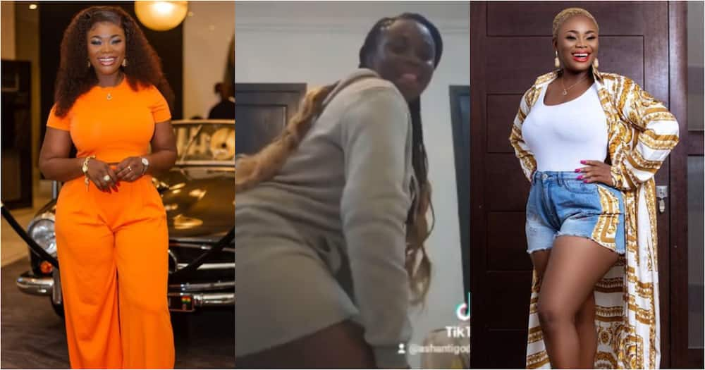 Akua GMB Proves her Twerking Skills as she Drops Wild Video Dancing to KiDi's Touch It