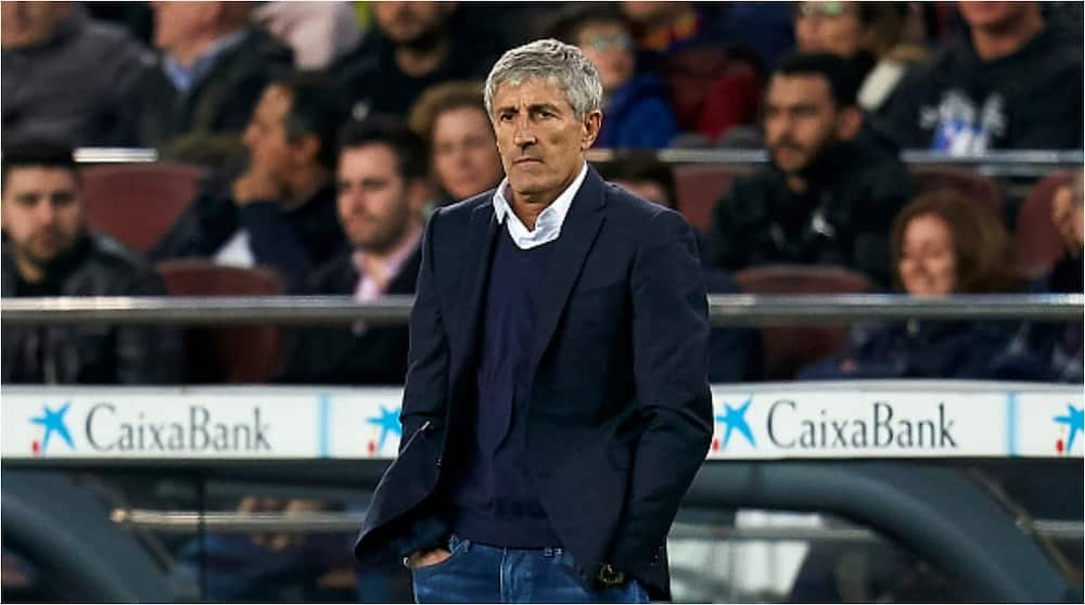 Quique Setien: Barcelona sack first team manager as part of wide range restructuring