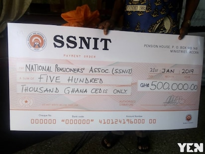 Pensioners benefit GHC500,000 from SSNIT for healthcare