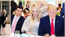 Trump's youngest daughter engaged at White House hours before his exit