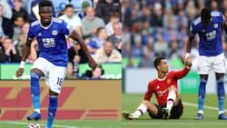 He pocketed Ronaldo - Fans react to Ghana Daniel Amartey's performance against Man United