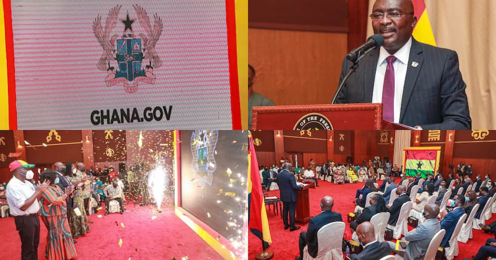 Photos drop as Bawumia launches another digital platform, Ghana.gov launch