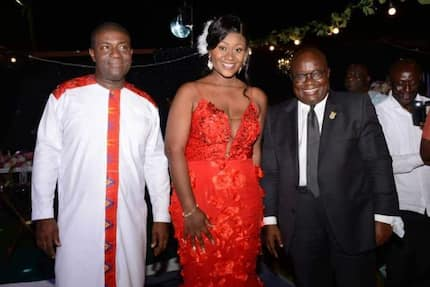 Nana Akomea tells Akufo-Addo, Bawumia, Okyehene how he 'conned' his wife (Video, Photos)