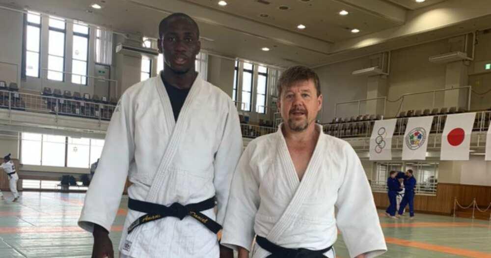 Tokyo 2020: Ghana's judoka Kwadjo Anani's Olympics journey ends after defeat to Gwak Don-Han