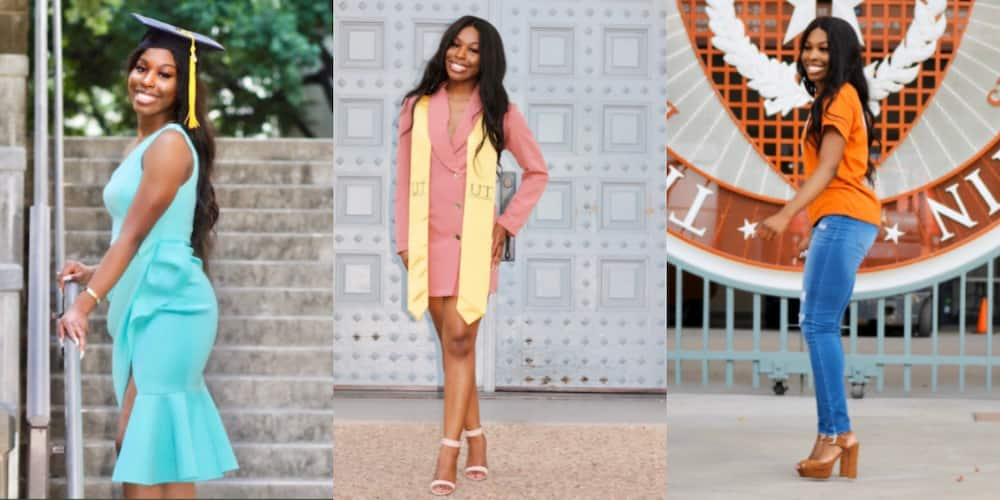 PHOTOS: Brilliant Black lady drops beautiful graduation photos as she earns degree in Biology