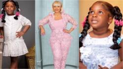 Love you: Nana Ama McBrown drops beautiful photos to celebrate b'day of little princess; fans react
