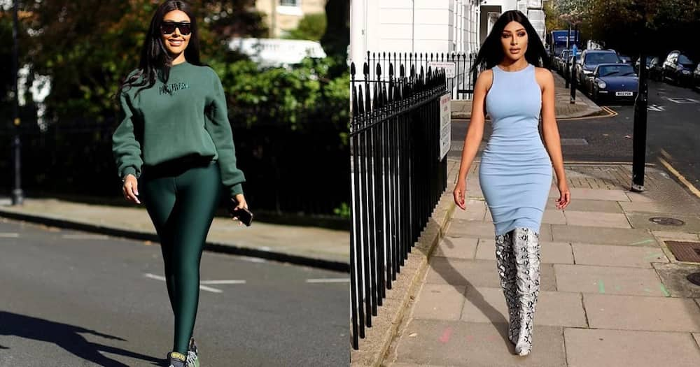 Lady Who Loves Attention Spends Millions to Look like Kim Kardashian