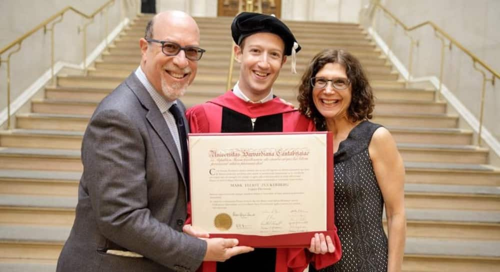 I Told You I'd Come Back to Get it: Throwback Pic of Zuckerberg Bagging Degree Generates Funny Reactions