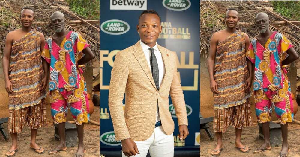 Former Ghana defender John Painstil features in actor Lil Win's series