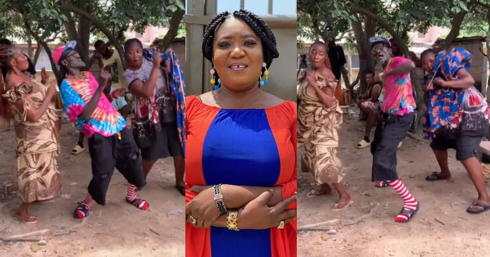 Lilwin: Actor Leads Older Actress in Displaying Beautiful Dance Moves in new Video