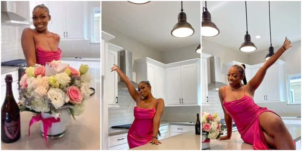 Nigerian nurse announces becoming house owner on America at 24