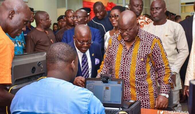 NIA registration for Ghana card 2018 NIA online registration ghana card registration ceners