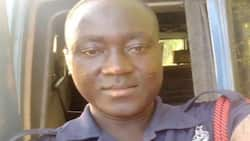 Robbers wickedly shoot police officer in the eye at Ejura (Photos)