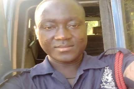 Police officer in critical condition after robbers shot him in the eye (Photos)