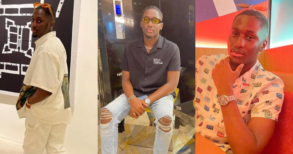 Give what belongs to Caesar to Caesar - Despite's 18-year-old son says as he drops new fashion photos
