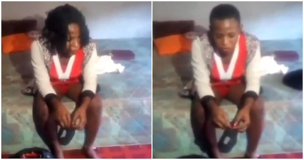 Man stunned as he finds out that prostitute he took home is a man (video)