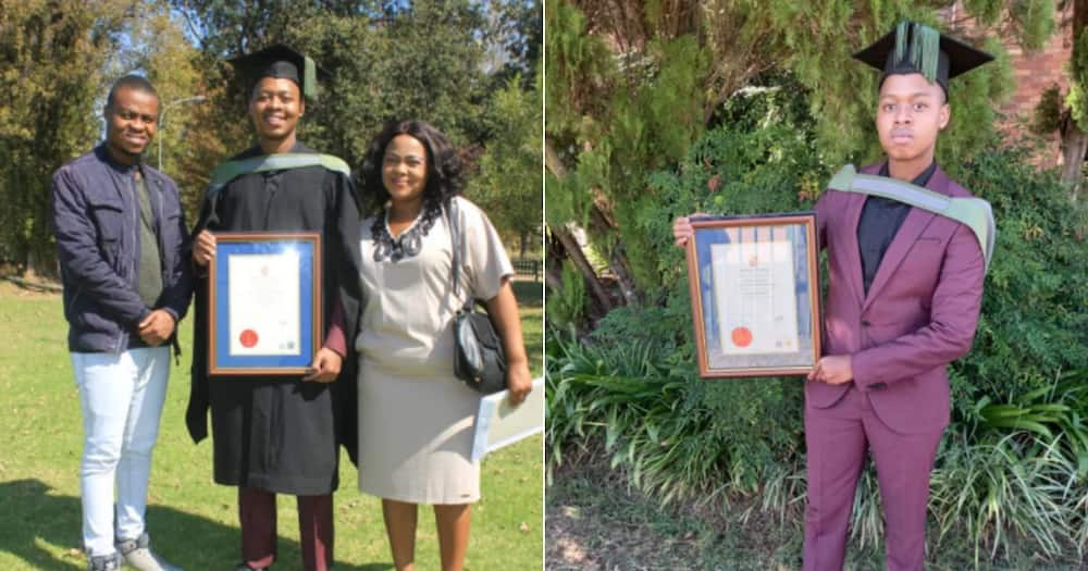 Man Graduates on Record Time, Side Hustle Clears R106k Student Debt