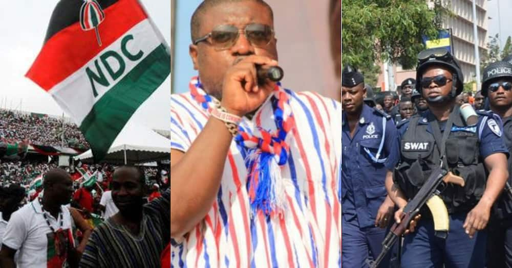Nana B: NPP National Youth Organiser Supports NDC to go on Demo; Rubbishes Police's Warning