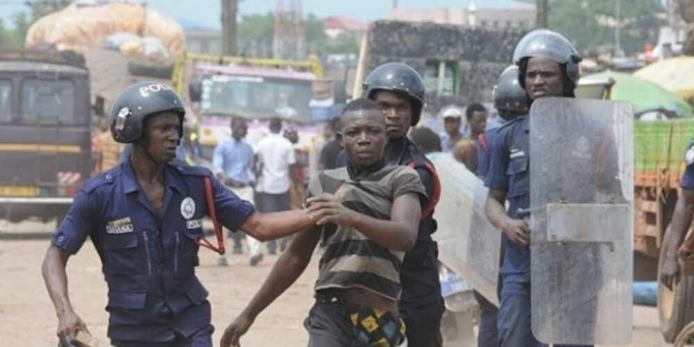 Korle-Bu bullion van attack: Police pick up 215 suspected criminals