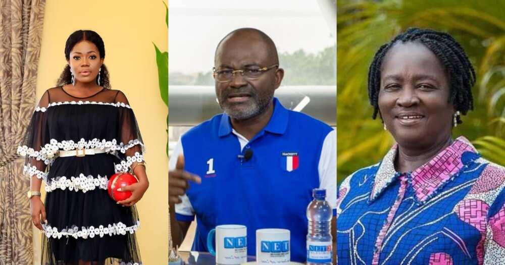 MzBel Replies Kennedy Agyapong over Professor Jane Naana Opoku Agyemang allegation