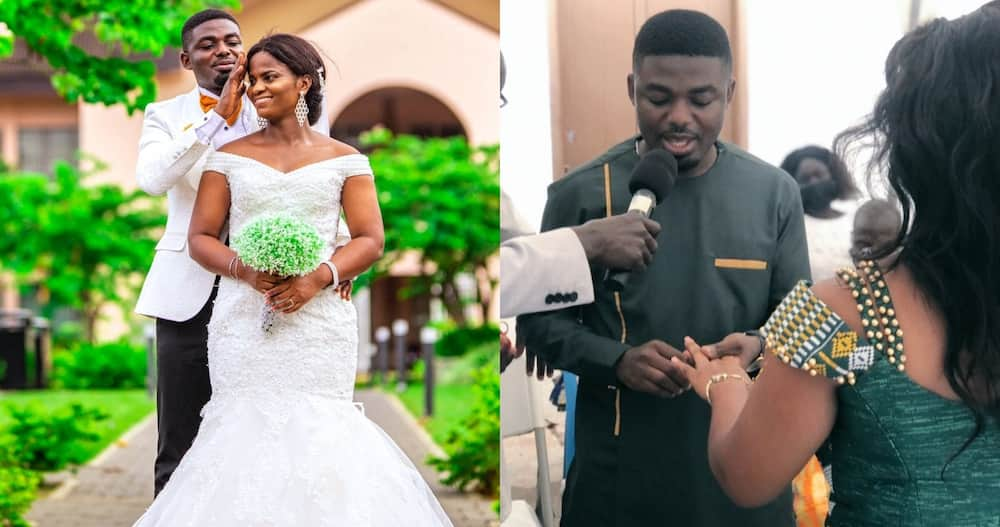 """KNUST First Class Student Marries day Before Final Exam; has """"Honeymoon"""" in exam hall"""