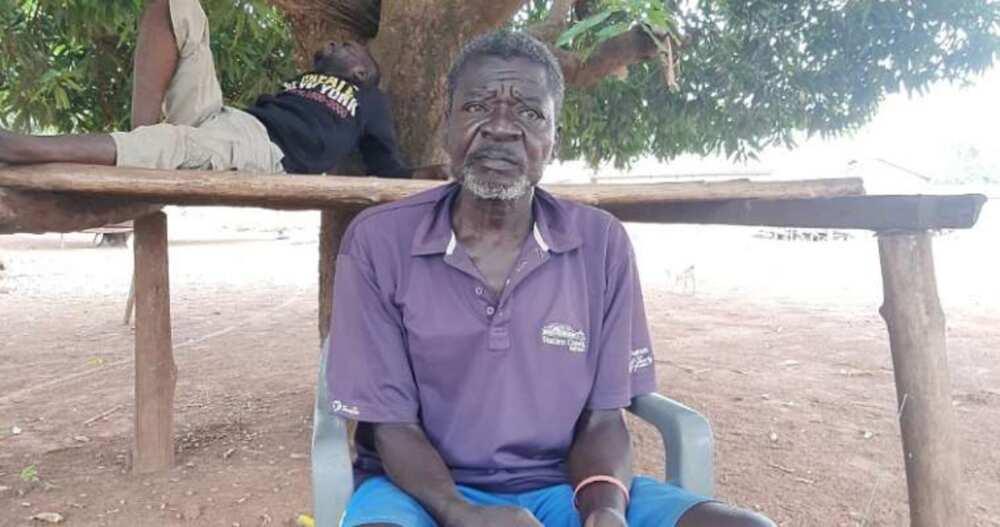 Manga Napari Joshua: 67-Year-old Retired Teacher & dad of 6 Unable to Access SSNIT